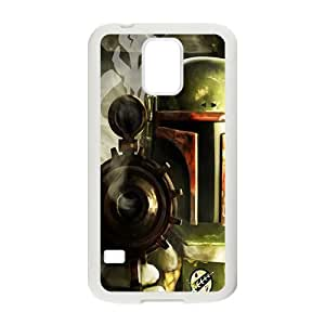 Droid War Design Plastic Case Cover For Samsung Galaxy S5