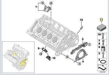 389 engine diagram amazon com bmw 11 11 2 159 389  engine crankcase cover gasket set  engine crankcase cover gasket set
