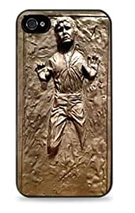 Han Solo Frozen in Carbonite Star Wars Apple iPhone 5 Silicone Case - Black - 320 by ruishername