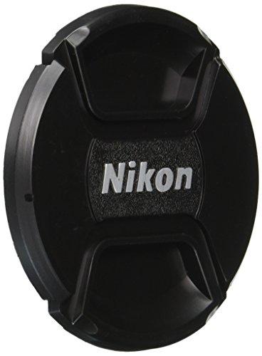 CowboyStudio 77mm Center Pinch Snap-on Lens Cap for Nikon Lens Replaces LC 77 - Includes Lens Cap Holder ()