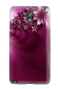 LJF phone case New Diy Design Purple Abstract 3d Logos Vector For Galaxy Note 3 Cases Comfortable For Lovers And Friends For Christmas Gifts