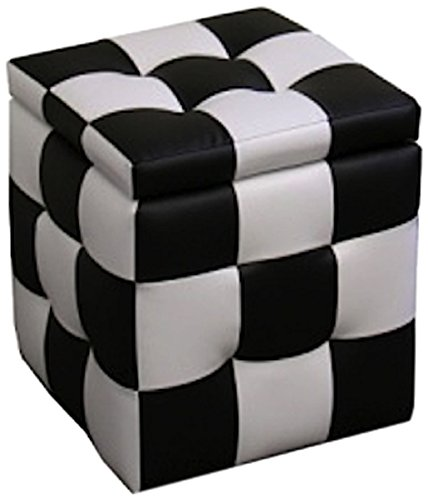 Awe Inspiring Amazon Com Ore International Hb4443 Checkered Block Storage Bralicious Painted Fabric Chair Ideas Braliciousco