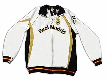 Sudadera blanca del Real Madrid Surm05 Talla-XXL: Amazon.es: Deportes y aire libre