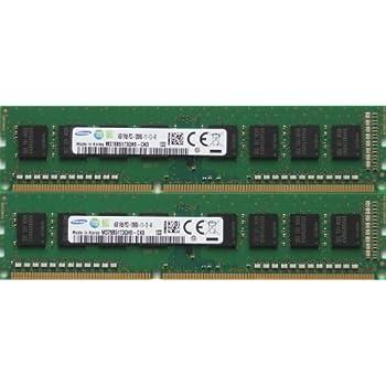 4x4GB 16GB PC3-12800u DDR3-1600MHz 2Rx8 Non-ECC Samsung M378B5273CH0-CK0