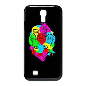 Samsung Galaxy S4 9500 Cell Phone Case Black COLORFULL INSIDE OUT LV7061183