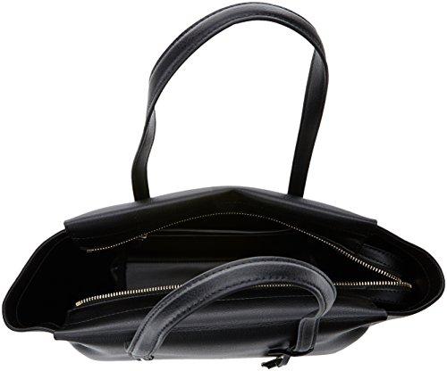 Klein Medium Frame Donna Borse Black Shopper Calvin Nero Tote TzUdnEFdqx