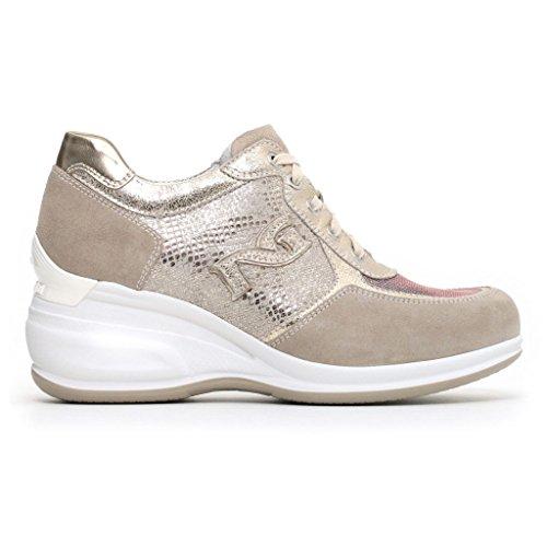 Donna Giardini Primavera Estate Ivory P805070D Scarpe Sneakers o 2018 Grigie Beige Nero apZ5xqq