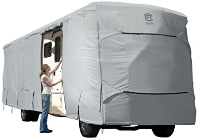 Classic Accessories OverDrive PermaPRO Deluxe Extra Tall Class A RV Cover - Lightweight Ripstop Fabric with RV CoveR