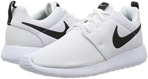 Black Scarpe Bianco Donna Roshe Nike white white One Running q8POC