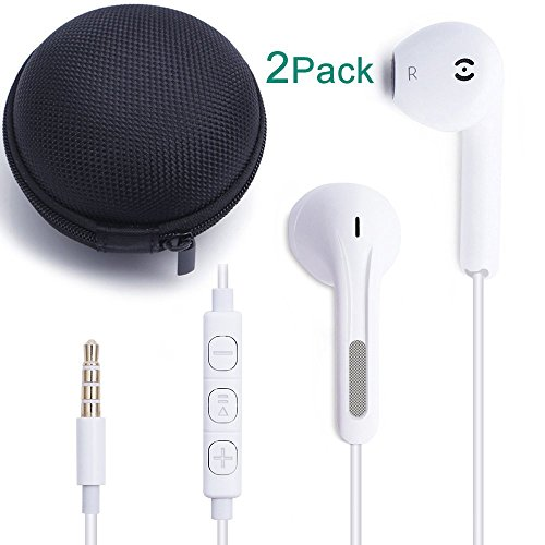 Stereo Earphones for Smartphone (White) - 1
