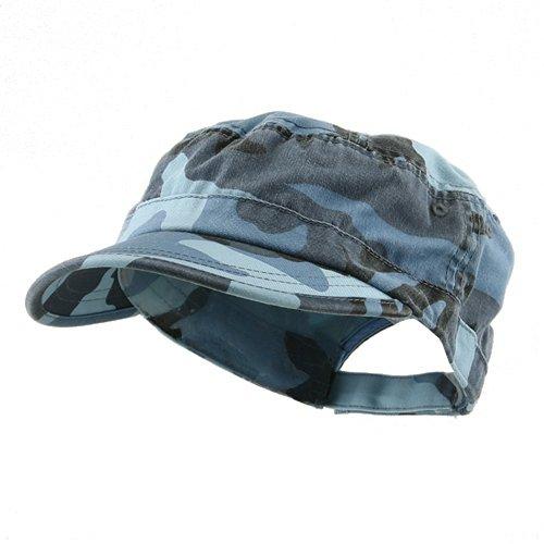 Cotton Sky Blue Camouflage - 4
