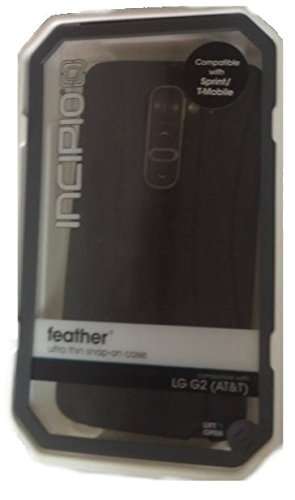 Incipio Technologies Feather Ultra-Thin Snap-On Case for LG G2 (Black)