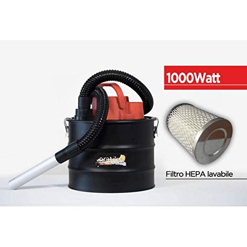 Pratikò Plus - Aspirador de cenizas para estufa de pellets (1000 W ...