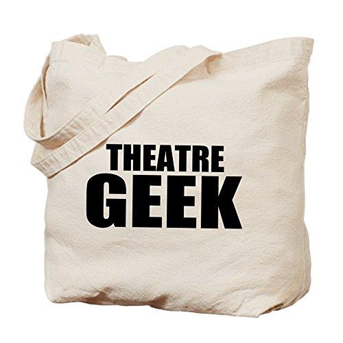 "CafePress–ThMisc ""Teatro Geek""–Gamuza de bolsa de lona bolsa, bolsa de la compra"