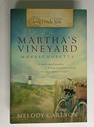book cover of Love Finds You in Martha\'s Vineyard, Massachusetts
