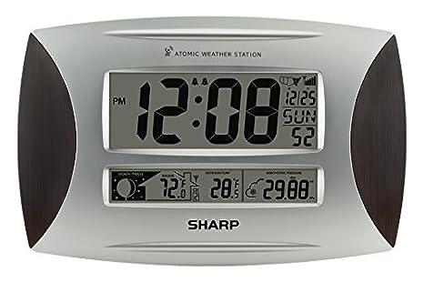 Sutton SPC1005WG agudo Atómica El tiempo del reloj de pared