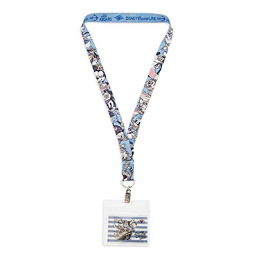 Disney Parksa Mickey Mouse and Friends New Cartoon Lanyard - Disney Cruise Line