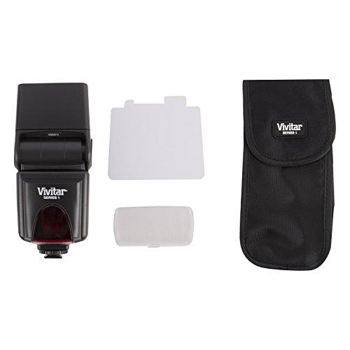 Vivitar DSLR AF Ultra Light Weight Pentax Camera Compatible Flash Attachment by Vivitar