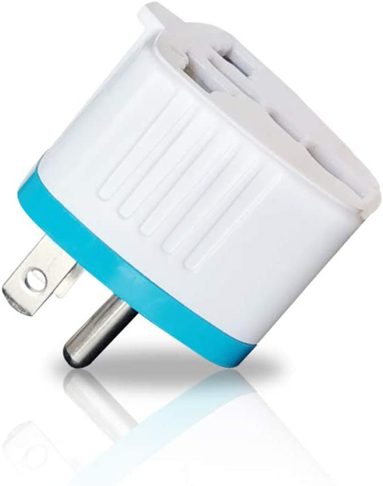 Amazon.com: Travel Adapter Plug for USA, Canada, Type-B Universal Grounded Plug Adapter Converter: Home Audio & Theater