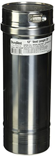 Rinnai FSVL1204SP 4 by 12-Inch Vent Pipe for 98 Series Non-Condensing Tankless Water Heaters by Rinnai 1