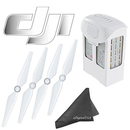 DJI-Phantom-4-Accessory-Bundle-Includes-DJI-Intelligent-Flight-Battery-for-Phantom-4-DJI-Phantom-4-9450S-Quick-Release-Propellers-eDigitalUS-Microfiber-Cleaning-Cloth