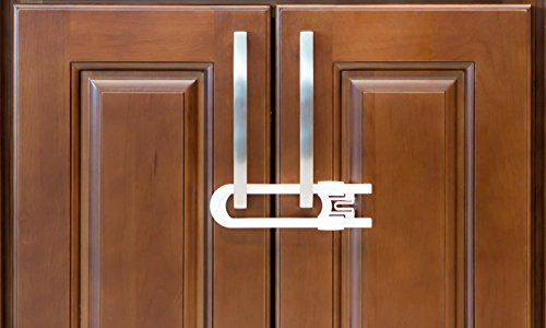 Gentil Sliding Cabinet Locks For Child Safety | Baby Proof Your Kitchen, Bathroom,  And.