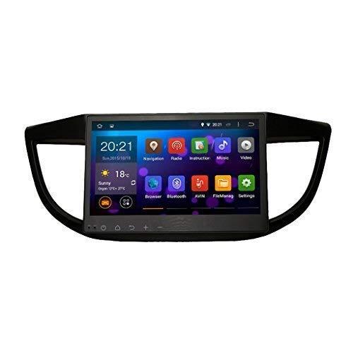 SYGAV Android Quad Core 10.2 Inch in-Dash Car Stereo Video Player 1024x600 GPS Sat Navigation for Honda CR-V CRV 2012-2015 Radio - Crv Radio