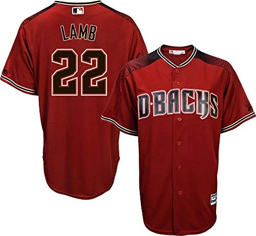 Jake Lamb Arizona Diamondbacks Red Youth Cool Base Alternate Replica Jersey (Medium ()