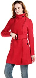 Amazon.com: Red - Wool & Blends / Wool & Pea Coats: Clothing