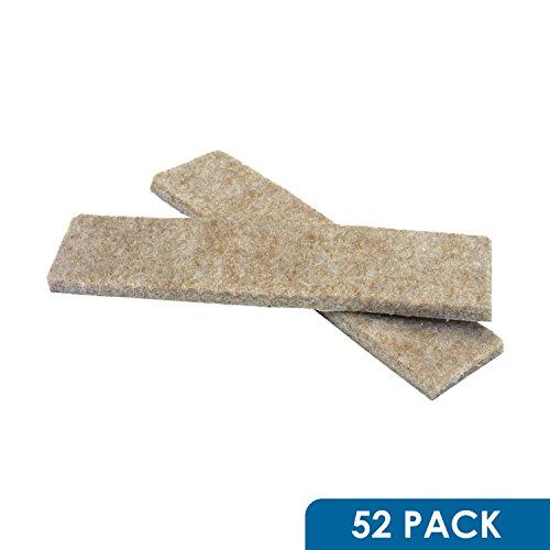 "Roykore 52 Pack Rok Hardware Heavy Duty 1x4"" Felt Stick P..."