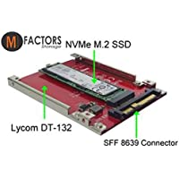"""NVMe M.2 SSD to NVMe U.2 2.5"""" SFF-8639 SSD Adapter DT132"""