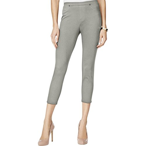 Style & Co.. Womens Flat Front Pull On Crop Leggings Gray XS