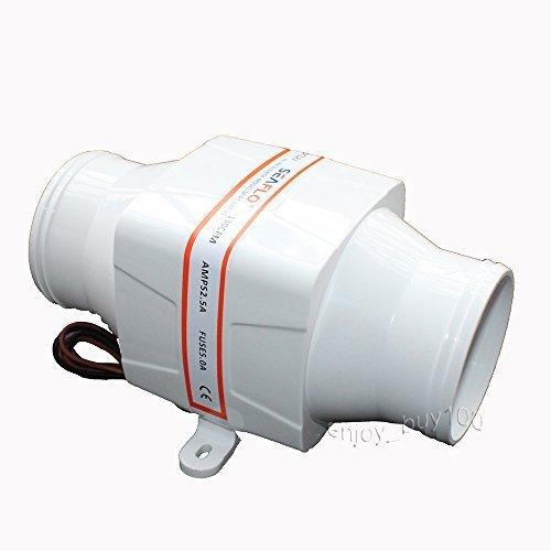 - In-Line Blower 12V Marine Cool Fan Ventilation Boat Bilge 3 by Seaflo