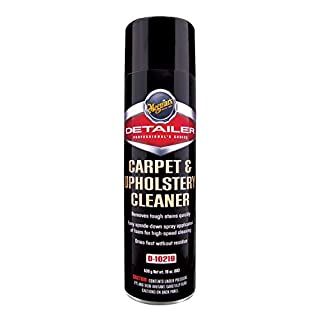 MEGUIAR'S D10219 Carpet & Upholstery Cleaner, 19 Ounces