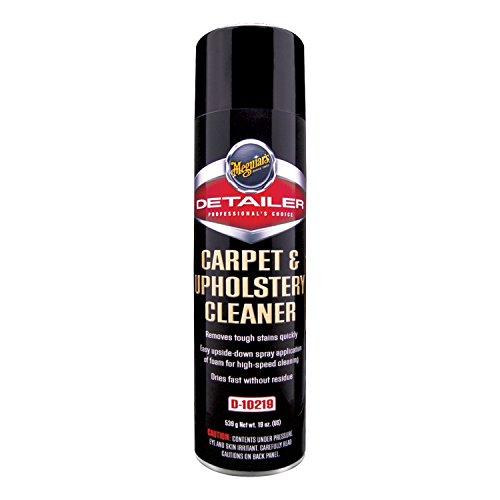 Meguiar's D10219 Carpet & Upholstery Cleaner, 19 Ounces (Best Microfiber Upholstery Cleaner)