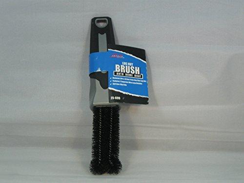 (S.M. Arnold 1 Pack 25-699/25-698 Professional Lug Nut Brush, 7-1/2 in, Rubber Handle)