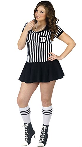 Plus Racy Referee (Plus) (Referee Costumes For Halloween)
