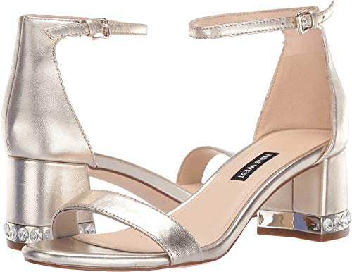 Nine West Women's Hazel Sandal Light Gold 8 M US