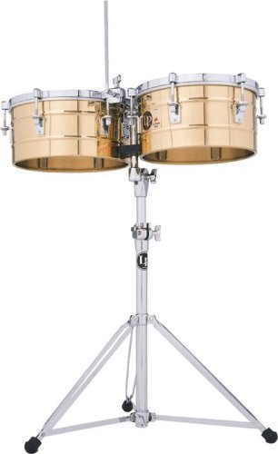 Latin Percussion LP Tito Puente 13'' & 14'' Timbales - Bronze by Latin Percussion