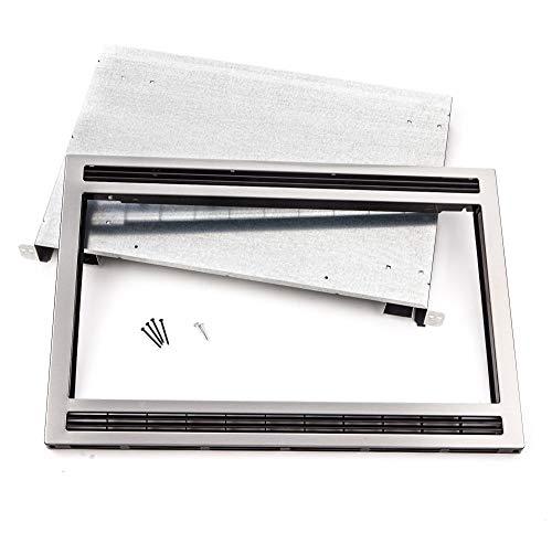 Frigidaire MWTK27KF, 27-Inch, Black/Stainless Microwave Trim Kit, Steel