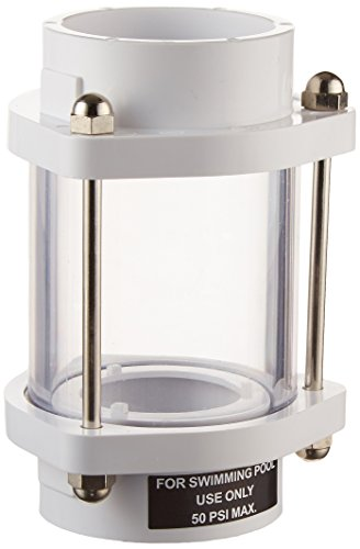 Hayward SP1072S In-line Backwash Sight - Glasses Fitting