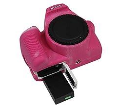 Funda de Gel de Silicona para cámara Canon EOS 200D II Funda ...