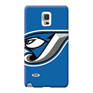 Samsung Galaxy Note 4 Bvi24916tiPJ Provide Private Custom Colorful Toronto Blue Jays Pattern Durable Hard Cell-phone Cases -LeoSwiech