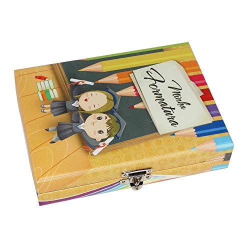 Álbum Maleta Formatura Infantil Beca 100 Fotos 15x21