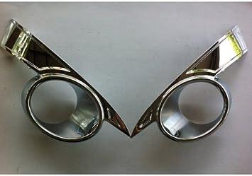Genuine CHROME FRONT FOG LAMP COVER LH/&RH 2p For CHEVY CAPTIVA 06~11 #96865505+