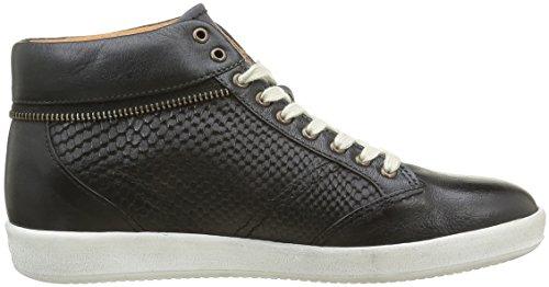 Kickers Happyzip, Sneaker Basse Donna Noir (Noir Gris Foncé)
