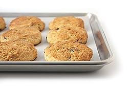 Baking Half Sheet Cookie Pan – Baker's Commercial Grade Aluminum Half Size 13\