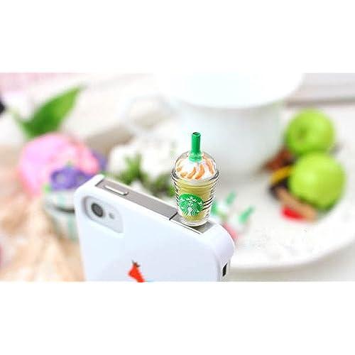 03172647df166d well-wreapped ZOEAST(TM) Strawberry Kiwi Milk Vodka Mango Frappuccino Cup Dust  Plug