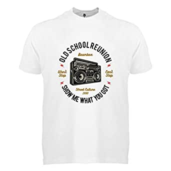 FMstyles Boombox White Unisex Tshirt FMS382