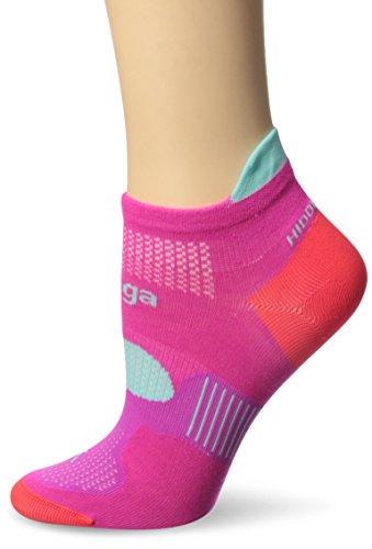 Balega Hidden Dry 2 Socks, Pink/Aqua, Medium